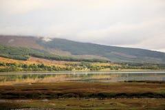 взгляд scottish холмов стоковое фото