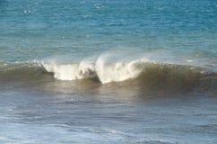 Взгляд seascape шторма Стоковое фото RF