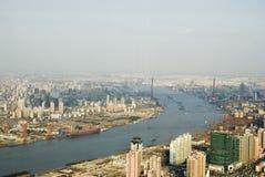 взгляд shanghai стоковая фотография