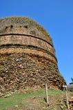 Взгляд Shingardar Stupa в северном Пакистане стоковое изображение rf