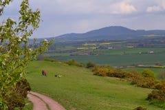взгляд shropshire Стоковые Фото