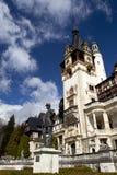 взгляд sinaia Румынии peles замока Стоковые Изображения