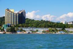 взгляд sochi моря Стоковые Фотографии RF