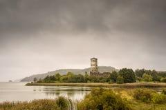 Взгляд Stegeborg, замка стоковая фотография