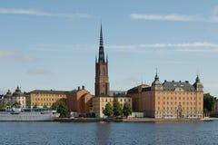 взгляд stockholm стоковые изображения rf