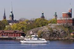 взгляд stockholm Стоковая Фотография