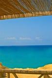 взгляд sunroof моря тросточки кафа Стоковое Изображение RF