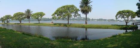взгляд taylor озера панорамный Стоковые Фото
