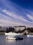взгляд thames реки london стоковое изображение rf