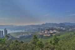 взгляд TKO на Шани Sheung Yeung, hk стоковая фотография rf