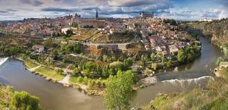 взгляд toledo города старый панорамный Стоковое Изображение