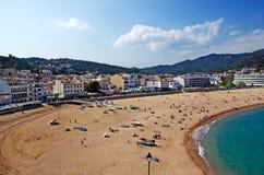 взгляд tossa de mar пляжа стоковые фотографии rf