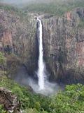 Взгляд Wallaman понижается в Квинсленд Австралию от пункта перспективы Стоковая Фотография
