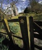 взгляд warwickshire сердца имущества en Клинтона baddesley Стоковая Фотография
