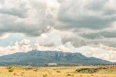 Взгляд Zastron в провинции освободившееся государство Стоковое Фото