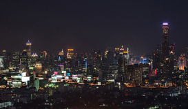 Взгляд Бангкока Стоковые Фотографии RF