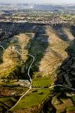взгляд воздушной области селитебный Стоковые Фото
