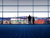 взгляд города Стоковое фото RF