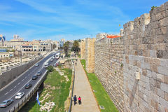 взгляд Иерусалима новый Стоковое Изображение RF