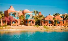 взгляд курорта gouna el Стоковые Фотографии RF