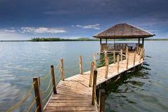 взгляд озера Стоковые Фото