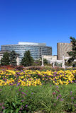 взгляд парка города Стоковое фото RF