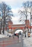 Взгляд парка Tsaritsyno в Москве Стоковые Фотографии RF