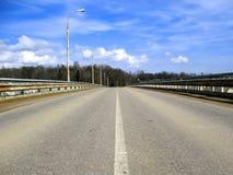 взгляд перспективы моста Стоковое Фото