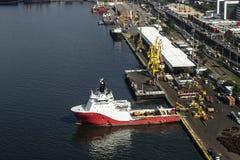 взгляд порта препровождения воздуха Стоковая Фотография