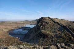 Взгляд стены Hadrians Стоковое Фото