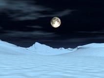 Взгляд 6 луны Стоковое Изображение RF