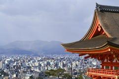 взгляд kiyoto японии величественный Стоковое Изображение