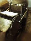Взгляд letterpress Стоковое Фото