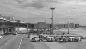 Взгляд авиапорта Changi в Сингапуре Стоковые Изображения