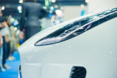 Взгляд автомобилей Стоковое фото RF
