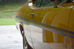 Взгляд античного автомобиля Стоковые Изображения RF