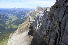 Взгляд ландшафта горы Стоковое Изображение RF