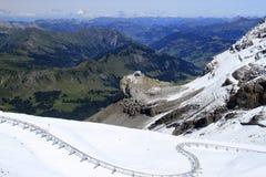 Взгляд ландшафта горы Стоковое Изображение