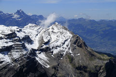 Взгляд ландшафта горы Стоковые Изображения