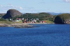 Взгляд 3 ландшафта побережья Норвегии Стоковое Изображение
