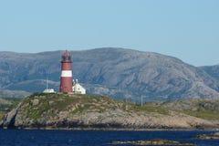 Взгляд 7 ландшафта побережья Норвегии Стоковое Изображение