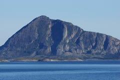 Взгляд ландшафта побережья Норвегии Стоковое фото RF
