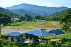 Взгляд ландшафта Tamparuli в Сабахе, Малайзии Стоковое фото RF