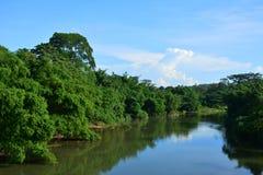 Взгляд ландшафта Tamparuli в Сабахе, Малайзии Стоковые Фото