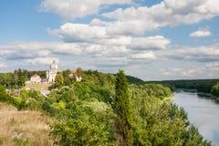 Взгляд архитектурного ансамбля столетия XVIII Liskiava Литва стоковые изображения