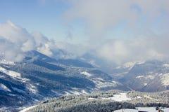 Взгляд альп Стоковые Изображения