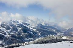 Взгляд альп Стоковое Изображение