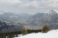 Взгляд альп Стоковое Изображение RF