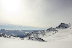 Взгляд альп Стоковые Фотографии RF