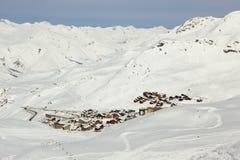 Взгляд альп Стоковые Фото